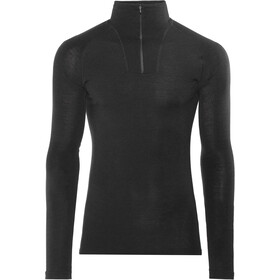 Woolpower Lite Sweat-shirt à col roulé avec demi-zip Femme, black